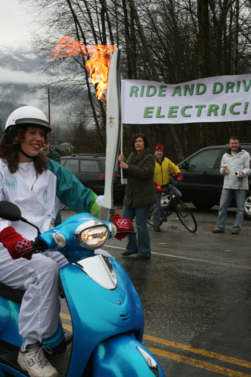 Electric Ride Torch