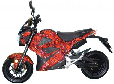 Motorino XMr Red Fire