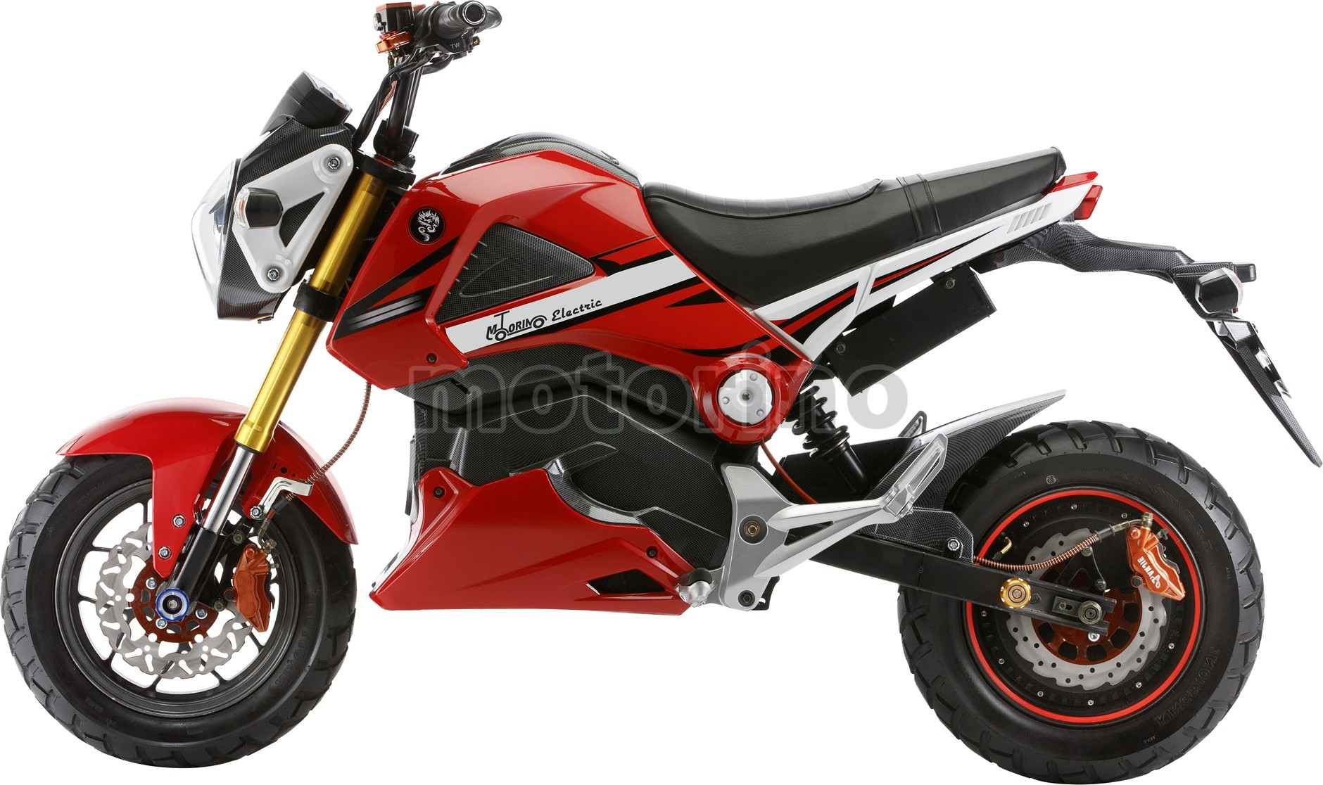 Motorino XMr Solid Red
