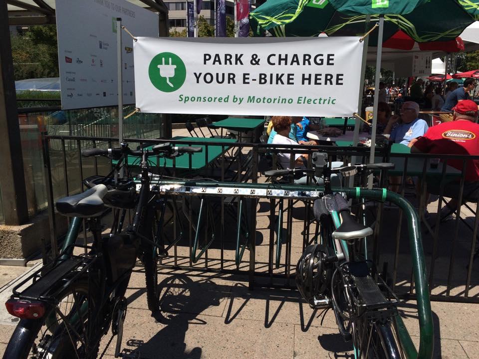 Powered Bike Rack