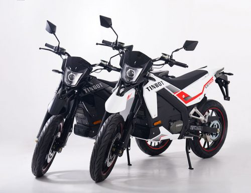 Tinbot Double Duty Motorbike Arrives to Canada